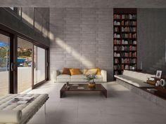 Ambiente 3D de uma sala, criada para Cerâmica Porto Ferreira S/A.