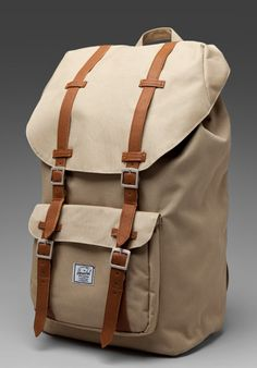 Shop for Herschel Supply Co. Little America Backpack in Khaki at REVOLVE. Herschel Backpack, Backpack Purse, Leather Backpack, Men's Backpacks, Back Bag, Faux Leather Skirt, Herschel Supply Co, Cute Bags, Travel Bags