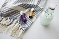 Best Young Living Essential Oil Facial Toner! Loving lavender + cedarwood essential oils! Elanaloo.com
