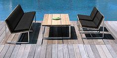 OKO Lounge Outdoor Furniture Sets, Outdoor Decor, Backyard Patio, Sun Lounger, Table, Public, Industrial, Coffee, Home Decor