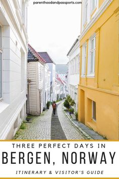 3 days in Bergen Norway. Bergen is a magical city regardless of the season or time of year in which you visit. This Bergen itinerary will help you plan a trip to Bergen for or 3 day. European Destination, European Travel, Visit Bergen, Rainy City, Colourful Buildings, Norway Travel, Cities In Europe, Europe Travel Tips, Travel Images