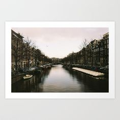 Canal Art Print by Golden Sabine Art Prints, Water, Photography, Outdoor, Design, Art Impressions, Gripe Water, Outdoors, Photograph