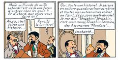 Les Aventures de Tintin - Séraphin Lampion