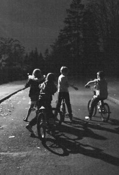 Remember Playing Outside After Dark