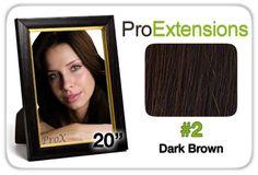 """Pro Fusion 20"""", #2 Dark Brown"""