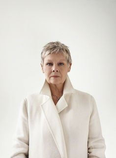 Dame Judi Dench by Bryan Adams, London National Portrait Gallery, London Judi Dench, Judy Dench Hair, Beautiful People, Beautiful Women, Actrices Hollywood, Helen Mirren, Sophia Loren, Aging Gracefully, Looks Style