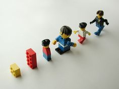 Lego evolution...  #aaa #accorgitene