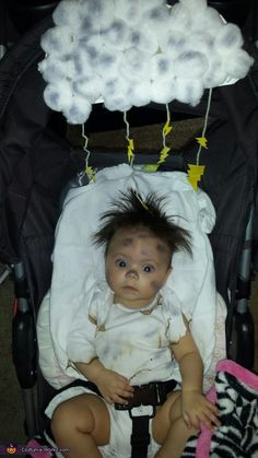 Monika: This is my 4 month old daughter. She has a lot of hair that naturally stands up and one day she looked like she had been electrocuted which made me...