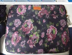 Lucky Brand laptop case briefcase book bag crossbody navy blue pink roses floral ~ http://stores.ebay.com/thecurrentfashion?_dmd=2&_nkw=Lucky+Brand , http://stores.ebay.com/thecurrentfashion/Bags-/_i.html?_fsub=10888362012 | #TheCurrentFashion #eBay #eBayFashion #fashion #style #LuckyBrand #MyLuckyBrand #LuckyBrandbag #laptopcase #briefcase #workbag #bookbag #crossbody #tote #bag #satchel #handbag #canvasbag #cottonbag #floral #roses #womenfashion #womensfashion #womensstyle #clothing…