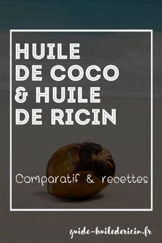 huile de ricin et huile de coco Beauty Box, Beauty Make Up, Hair Beauty, Beauty Advice, Beauty Hacks, Aleo Vera, Coco Oil, Girly Things, Healthy