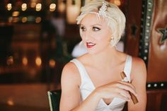 Bride And Cigar | CIGAR&FASHION EVERY TIME