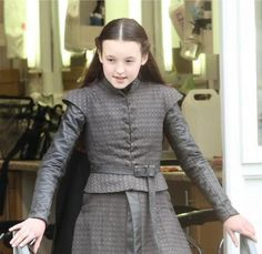 Badass women of Game of Thrones: Lady Lyanna Mormont. Mormont Game Of Thrones, Game Of Thrones Tv, Lady Lyanna Mormont, Watchers On The Wall, A Dance With Dragons, The Worst Witch, Beautiful Costumes, Badass Women, Great Women