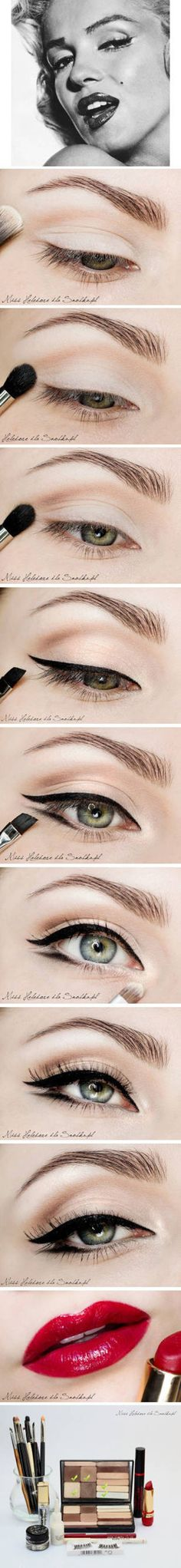 Gorgeous Double Wing Eye Shadow Tutorial #makeup #eyeshadow