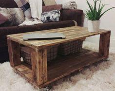 Plataforma mesa LEMMIK casa de campo estilo por FarmhousePalletsCo