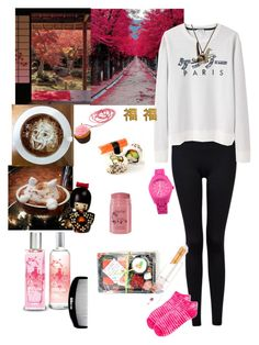 Tokyo tower by lj-case on Polyvore featuring polyvore, fashion, style, Forever 21, Nurse Mates, Toy Watch, Pop Cutie, yuki nagao, Origami Jewellery, Kenzo, tarte, The Body Shop, shu uemura, Ginger Fizz and clothing