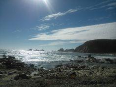 Playa Algarrobo...  Chile.