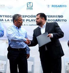 Entrega Oficial de Predio de parte de Ayuntamiento a IMSS