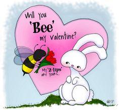 01-22-13 Bee Mine Bunny2 by bunnykissd, via Flickr
