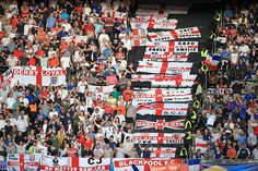 Some 80,000 football fans have joined the French President and the Prime Minister in the emotional tribute......DERBY RAM'S fans showing their support.