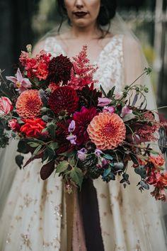 Love the dahlias! Corsage Wedding, Flower Bouquet Wedding, Bridesmaid Bouquet, Floral Wedding, Wedding Colors, Wedding Styles, Bridesmaids, Apricot Wedding, Our Wedding