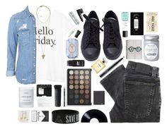 """""""Dream On"""" by ellac9914 ❤ liked on Polyvore featuring MANGO, Topshop, Nudie Jeans Co., Fresh, Byredo, Givenchy, Converse, NARS Cosmetics, Chanel and MAC Cosmetics"""