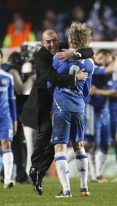 We won! Woohoo!  Feels like winning the darned trophy.  Go Chelsea FC!
