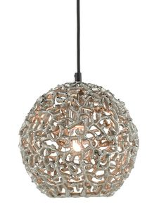 Cozumel Nickel Pendant | Currey and Company Cool Lighting, Lighting Design, Pendant Lighting, Light Pendant, Mini Pendant, Gold Pendant, Fan Coral, Cozumel, Nickel Finish