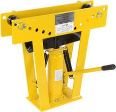 JEGS Performance Products JEGS 16 Ton Hydraulic Pipe Bender Includes Eight Dies: JEGS 81522: Automotive Tools.