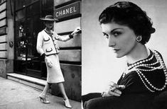 Coco Chanel: You need a boucle suit or a little black dress, a chain-strap bag, pearls, red lipstick, and that French je ne sais quoi. Audrey Tautou, Audrey Hepburn, Perfume Chanel, Best Perfume, Flapper Style, 1920s Flapper, Marca Chanel, Gabrielle Bonheur Chanel, Ritz Paris