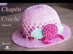 Chapéu de crochê | verão | Professora Simone