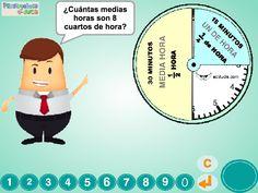 Medida Segundo - Penyagolosa e-duca Family Guy, Math, Literary Genre, Tights, Note Cards, Quartos, Games, Activities, Blue Prints