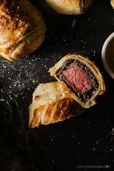 mini beef wellington recipe | www.iamafoodblog.com
