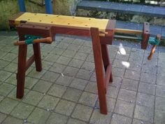 Portable workbenches.