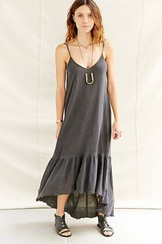 Urban Renewal Recycled Cami Maxi Dress - Urban Outfitters