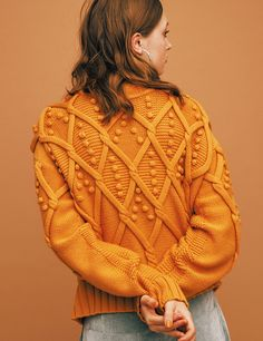 Knitwear Fashion, Sweater Fashion, Cable Sweater, Men Sweater, Sexy Dresses, Knit Crochet, Women Wear, Style Inspiration, Knitting