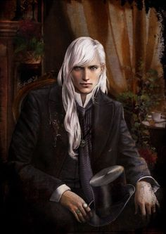 Young Lucius Malfoy.