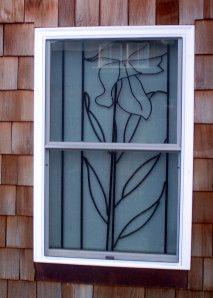 Wonderful Iris Security Bars For Windows (interior)