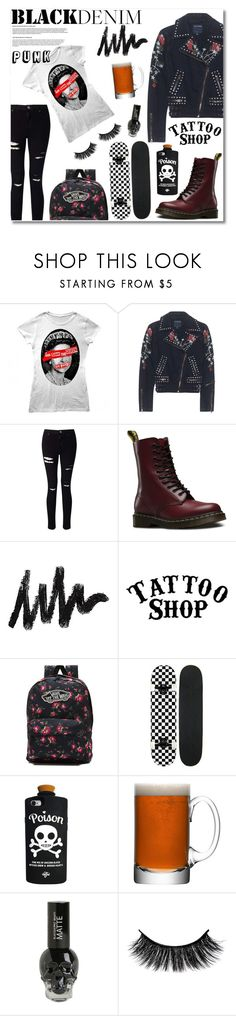 """""""New Punk: Sex Pistols nostalgic!"""" by ragelove ❤ liked on Polyvore featuring True Religion, Miss Selfridge, Dr. Martens, WALL, Vans, LSA International and Hot Topic"""