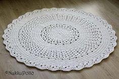 Basket, Diy, Crochet Rugs, Home Decor, Journal, Furniture, Crochet Carpet, Breien, Tapis Crochet
