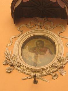 A little shrine in Rome.