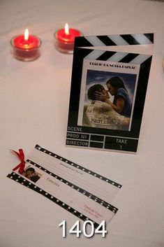 "This would be neat! ""I'm sitting at table The Proposal."" #weddingtheme #wedding #theme #movie"