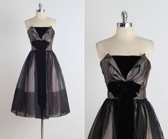 Hayworth . vintage 1950s dress . vintage cocktail dress . 4759