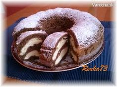 Bábovka s tvarohom - Cake with cream cheese Slovak Recipes, Czech Recipes, Russian Recipes, Mexican Food Recipes, Sweet Recipes, Just Desserts, Delicious Desserts, Yummy Food, Bunt Cakes