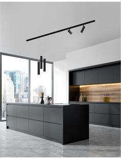 Modern Kitchen Interiors, Luxury Kitchen Design, Kitchen Room Design, Contemporary Kitchen Design, Home Room Design, Kitchen Cabinet Design, Kitchen Layout, Home Decor Kitchen, Interior Design Kitchen