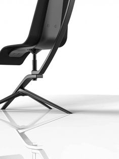 The Black Crane by Jongha Lee, via Behance by constance Diy Design, Design Trends, Modern Design, Sofa Bench, Sofa Chair, Chair Design, Furniture Design, Design Research, Home Trends