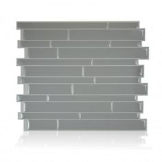 smart tiles Milano Platino in. H Peel and Stick Self-Adhesive Decorative Mosaic Wall Tile Backsplash - The Home Depot Peel Stick Backsplash, Peel And Stick Tile, Stick On Tiles, Smart Tiles, Decorative Wall Tiles, Mosaic Wall Tiles, Self Adhesive Wall Tiles, Acrylic Panels, Tile Installation