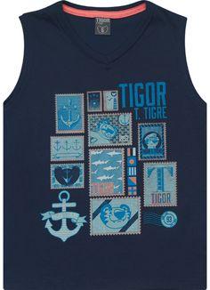 Regata da Coleção Alto Verão 2015 de Tigor T. Tigre.