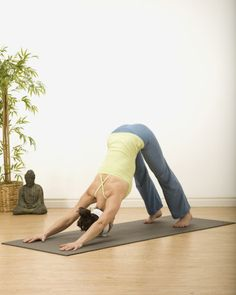 d370b3383cea 5 Yoga Poses To Practice First Thing In The Morning - mindbodygreen.com Yoga  Sequences