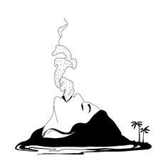"""Résultat de recherche d'images pour """"volcano tattoo"""""""