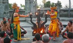 """Kecak and Fire Dance in Bali"" by Katja Presnal"
